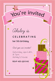 fun birthday free printable birthday invitation template