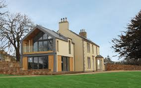 view of farmhouse and extension builddream pinterest