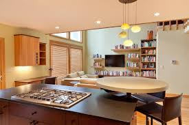 kitchen family room open concept designs and colors modern classy