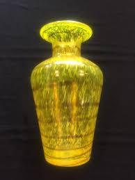 Yellow Glass Vase Lovely Interiors Home Decor Buy Online