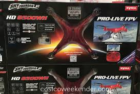 sky thunder rc hd 8500wh drone costco weekender