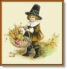 happy thanksgiving pilgrims cards
