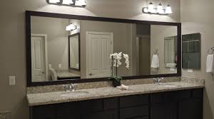 mirrors for bathroom vanity las vegas master bathroom mirror and vanity before after with