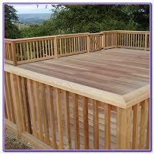 building a deck railing ideas decks home decorating ideas