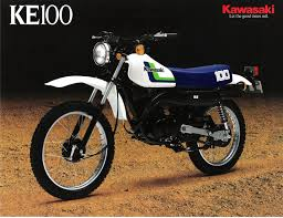 kawasaki ke100 motorcycles that i u0027ve owned pinterest motorbikes