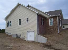 walk out basement retaining walls and walk out basement details custom homes by
