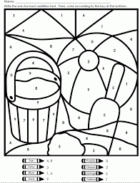 color by number worksheets free many interesting cliparts