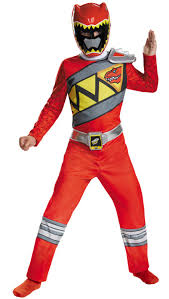 Power Rangers Halloween Costumes Adults Boy U0027s Red Ranger Dino Charge Costume Kids Costumes