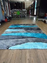70 most exemplary vibrant ideas bright blue area rug imposing