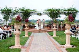 Wedding Ceremony Decorations Ideas For Outside Wedding Decorations House Decorations And
