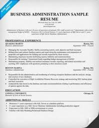 Mysql Dba Resume Sample download business administration resume haadyaooverbayresort com