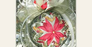 easy no sew ornaments are pretty for any occasion quilting digest