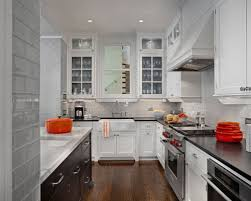 Glass Tile Backsplash Houzz - Glass tiles backsplash kitchen