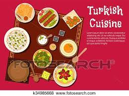 posters cuisine clip of cuisine food and desserts k34985668 search