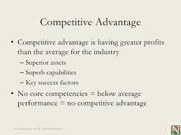 list of core strengths lesson 21 core competency and competitive advantage