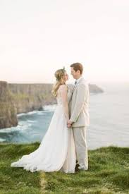 wedding backdrop ireland a wedding on the cliffs of moher an ireland