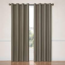 back tab curtains u0026 drapes window treatments the home depot