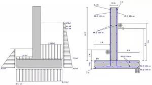 Reinforced Concrete Wall Design Example Design A Retaining Wall - Reinforced concrete wall design example