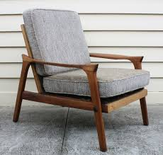 Reclaimed Armchair Vintage Retro 60s Eames Era Danish Deluxe Lounge Arm Chair