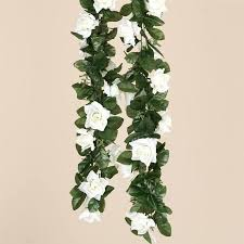 6ft artificial uv protected silk flower chain garland