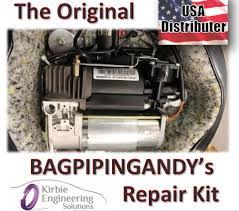 bmw x5 e53 5 series e39 wabco air suspension compressor pump