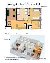 princeton housing floor plans housing options residential life stockton university