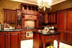 Wood Kitchen Designs Modern Cherry Kitchen Cabinets Dans Design Magz Appealing