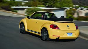 yellow volkswagen convertible vw scirocco and beetle allegedly face retirement no successors