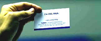 Social Network Business Card The Social Network