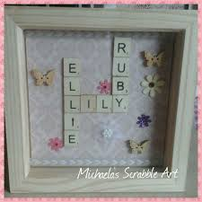 handmade personalized gifts 22 best my handmade scrabble and frame images on