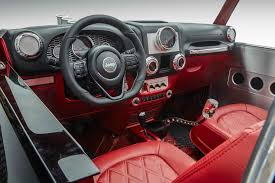 jeep safari concept interior jeep quicksand concept quadratec