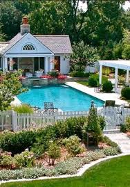 Backyard Pool House by These 10 Incredible Pools Are What Dreams Are Made Of Door