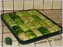 plat cuisiné à congeler douillettes de choux chez vanda