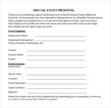 sample event proposal template 25 free documents in pdf word