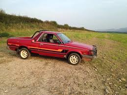 brat car 1987 subaru brat brumby pickup in ware hertfordshire gumtree