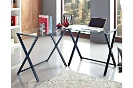 Home Office Glass Desks Home Office Glass Desk Glass Office Furniture Desk Image Of