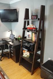 furniture small leaning ladder shelf wooden ladder shelf for