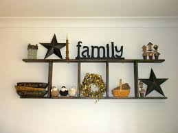 Wall Decorating Ideas by Primitive Wall Decor Wall Shelves