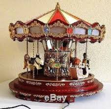 mr carousel animals box ornament merry go