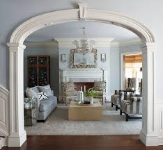 amazing colonial revival interior design and elegant traditional