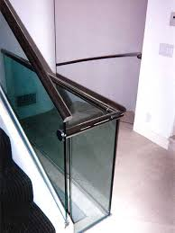 Glass Banister Staircase Glass Railings U0026 Windbreaks Photo Gallery Westoaks Glass And Mirror