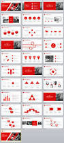 31 best red annual report powerpoint template the highest