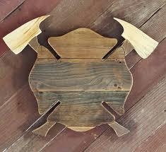 wooden maltese cross repurposed barn wood firefighters maltese by woodwitharepurpose