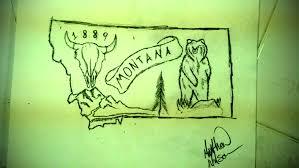 montana tattoo design drawing malka 2018 aug 27 2012