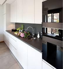 plan de travail de cuisine en granit plan de travail cuisine 50 idées de matériaux et couleurs