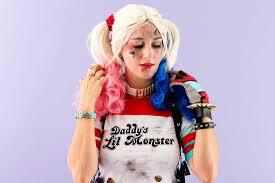 Harley Quinn Halloween Costume Diy Squad U0027s Harley Quinn Costume Halloween