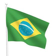 Brazil Flag Image Polyester Brazil Flag Light Duty Flags International