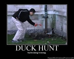 Funny Fail Memes - duck hunt irl fail duck hunt know your meme