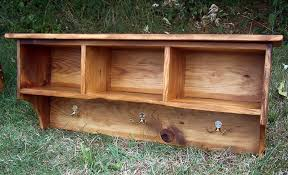buy a custom made coat rack cubby shelf for entryway made from