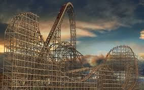 Six Flag Illinois See The New Triple Record Breaking Roller Coaster At Six Flags